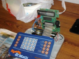 Speak and Math circuit bending project