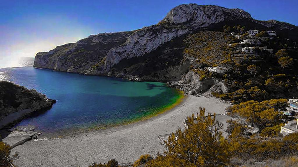 Cala de Granadella, Cabo de la Nao, casa asombrosa, appartement,