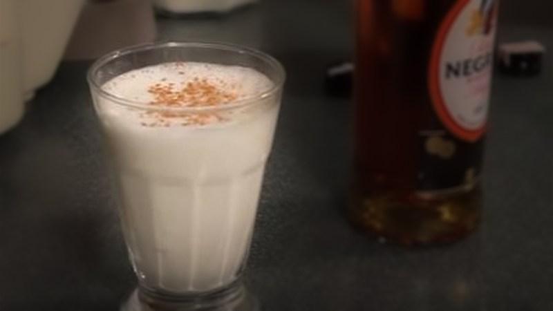 Leche de Pantera, dessert cocktail
