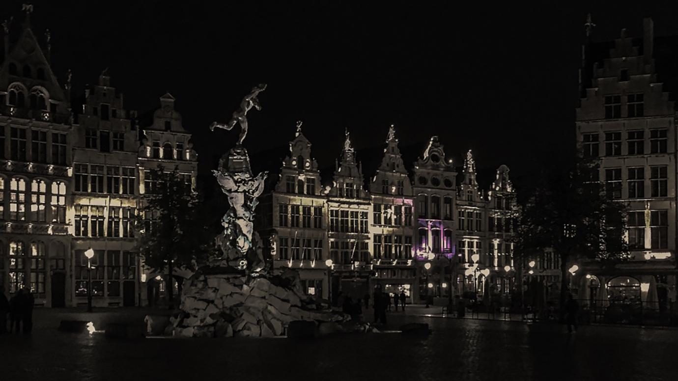 Nachtfoto fotografie Antwerpen