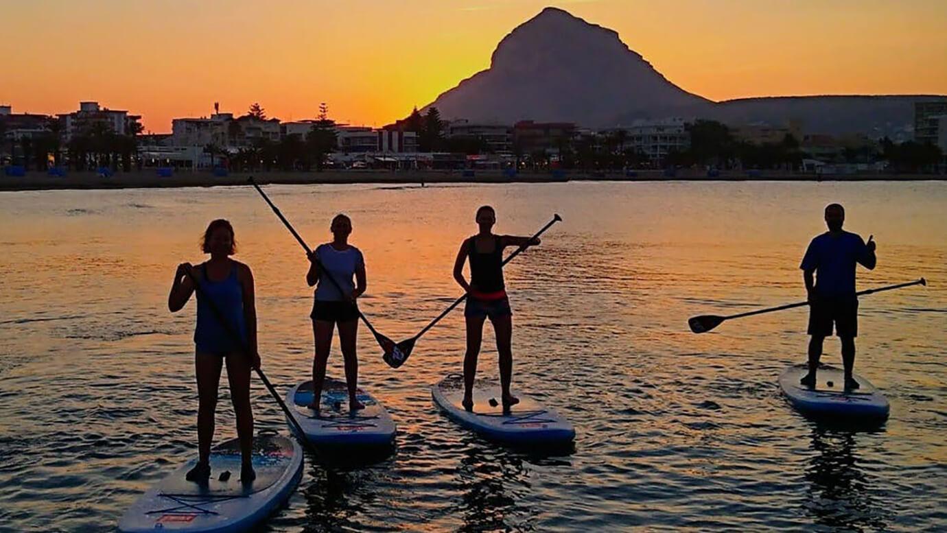 Paddle- Surf, Montgó, vissersdorp Javea