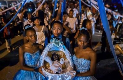 Las comunidades afro colombianas celebran su Navidad