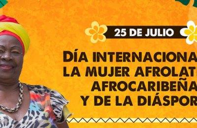 Día Internacional de la mujer afrolatina, afrocaribeña y de la diáspora