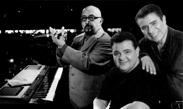 Richie Ray y Bobby Cruz junto a Sonora Ponceña en concierto