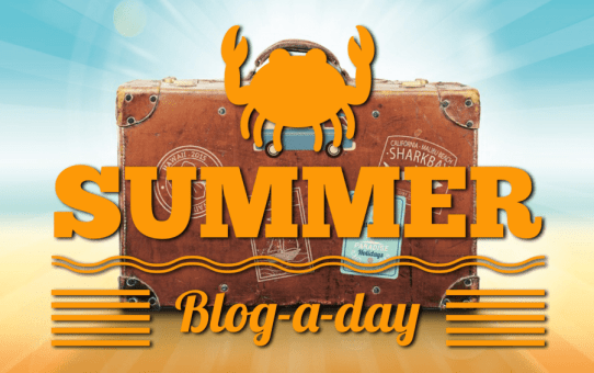 SUMMER Blog-a-day!