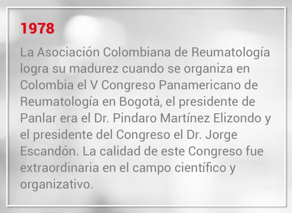 V Congreso Panamericano de Reumatología