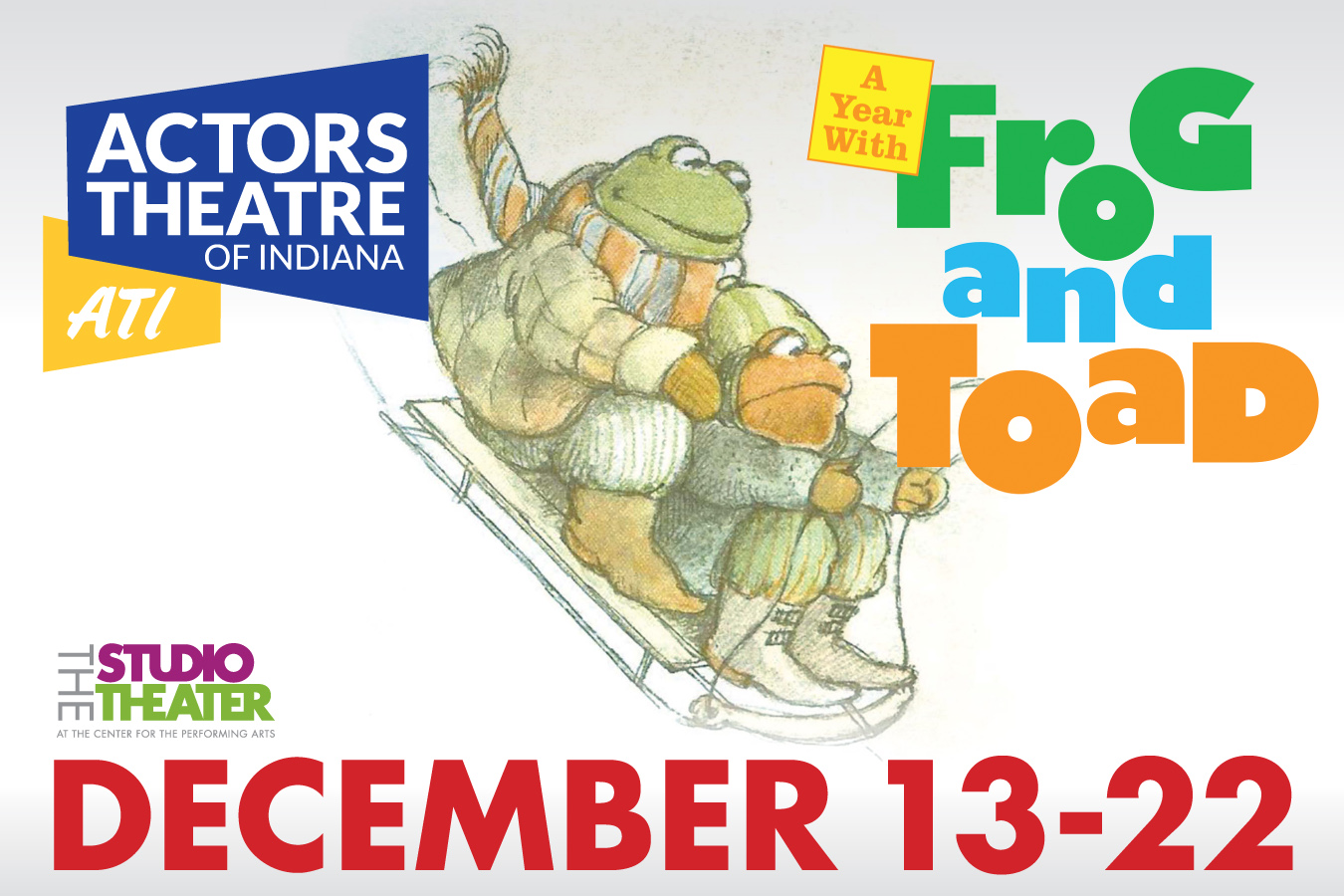 Ati S A Year With Frog Amp Toad At The Studio Theater In