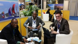 Photo 2  Antigua and Barbuda delegation with Sander Groothuis of Windstar Cruise Lines