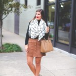 Grid Blanket Scarf A Southern Drawl