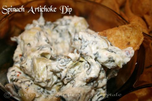 Delicious Spinach and Artichoke Dip