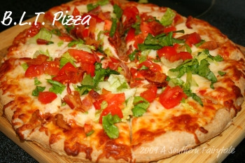 BLT pizza 2