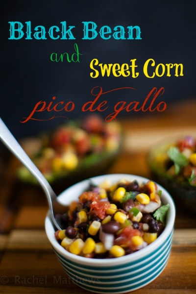 Black Bean and Sweet Corn Pico de Gallo