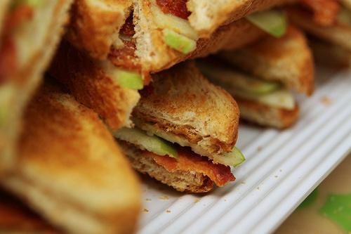 Peanut Butter Apple Bacon And Honey Sandwich A Southern Fairytale