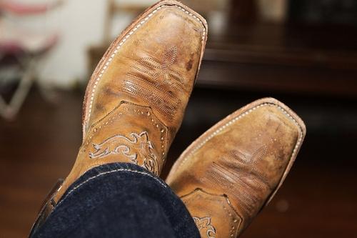 Boots That Burn