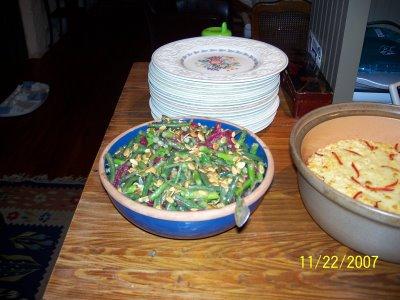 Vinaigrette and Veggie Salad
