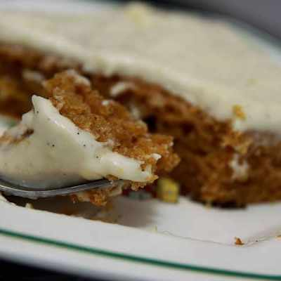 the best ever pumpkin sheet cake -- the lightly spiced cream cheese frosting paired with the pumpkin sheet cake is the best fall dessert you'll ever have | asouthernfairytale.com