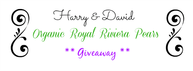 Harry and David Organic Royal Riviera Pears