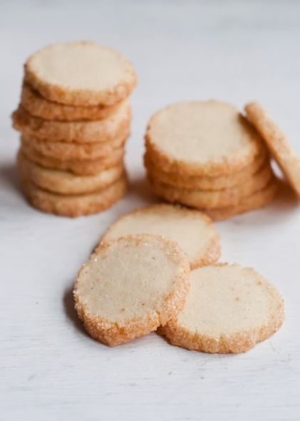 double vanilla sable cookies