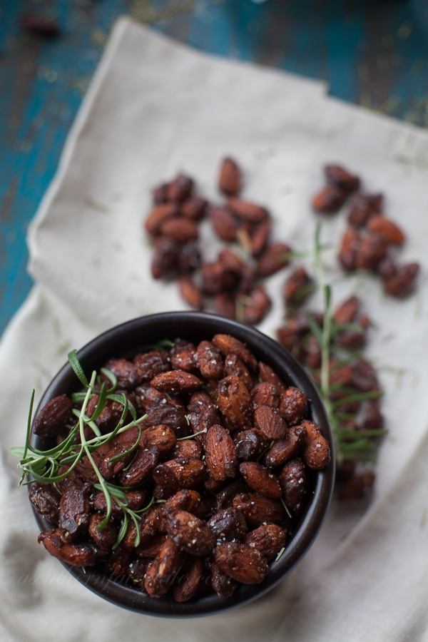 Honey Chipotle Spiced Nuts