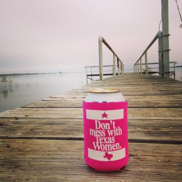 Texas Women Coozie