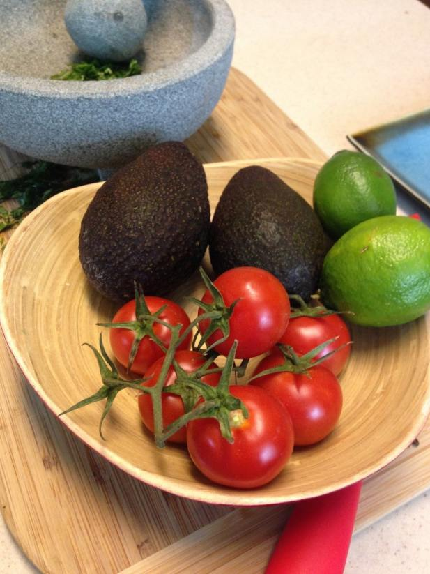 guacamole ingredients   A Southern Fairytale