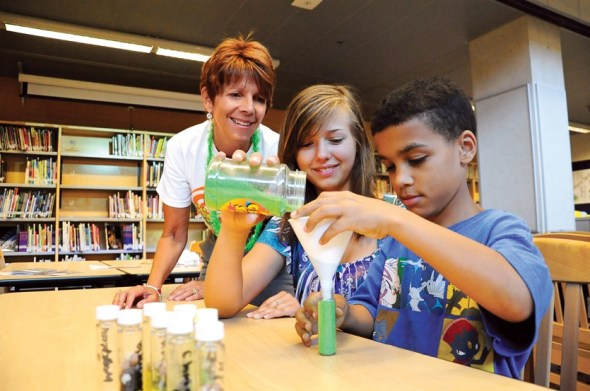 experiments at camp invention