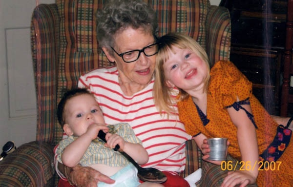 Granny, Monkey, and Princess