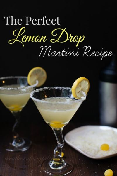 Simple and Delicious Lemon Drop Martini Recipe