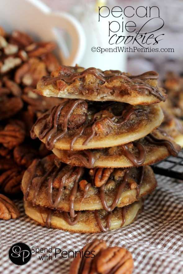 Pecan Pie Cookies from Spends with Pennies