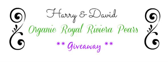 Harry and David Royal Riviera Pear give away