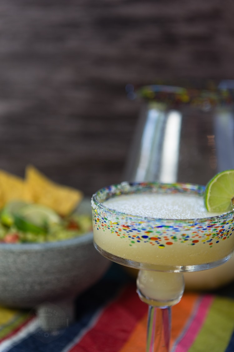 Easy, homemade, Frozen Margarita | A Southern Fairytale