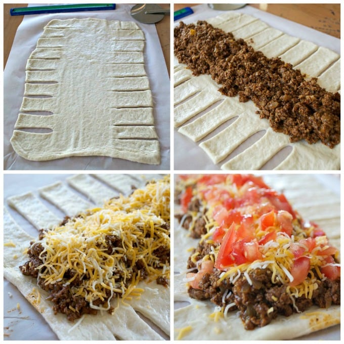 Taco Tuesday Taco Braid