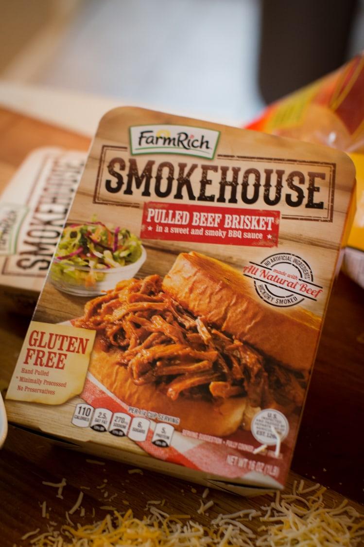 farm rich smokehouse pulled brisket