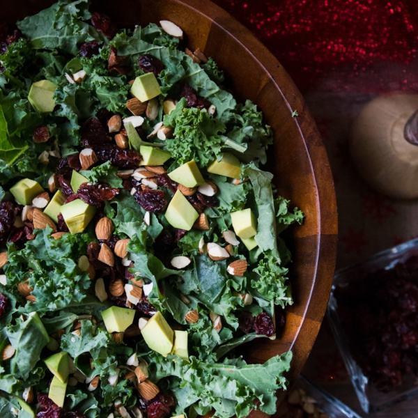kale salad recipe from ALDI