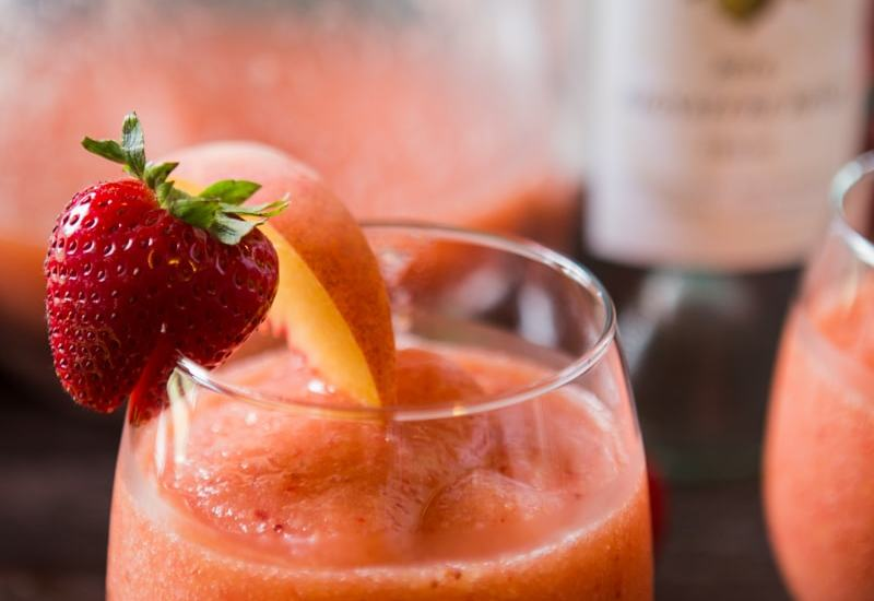 Rosè Frozen Fruit Slushies