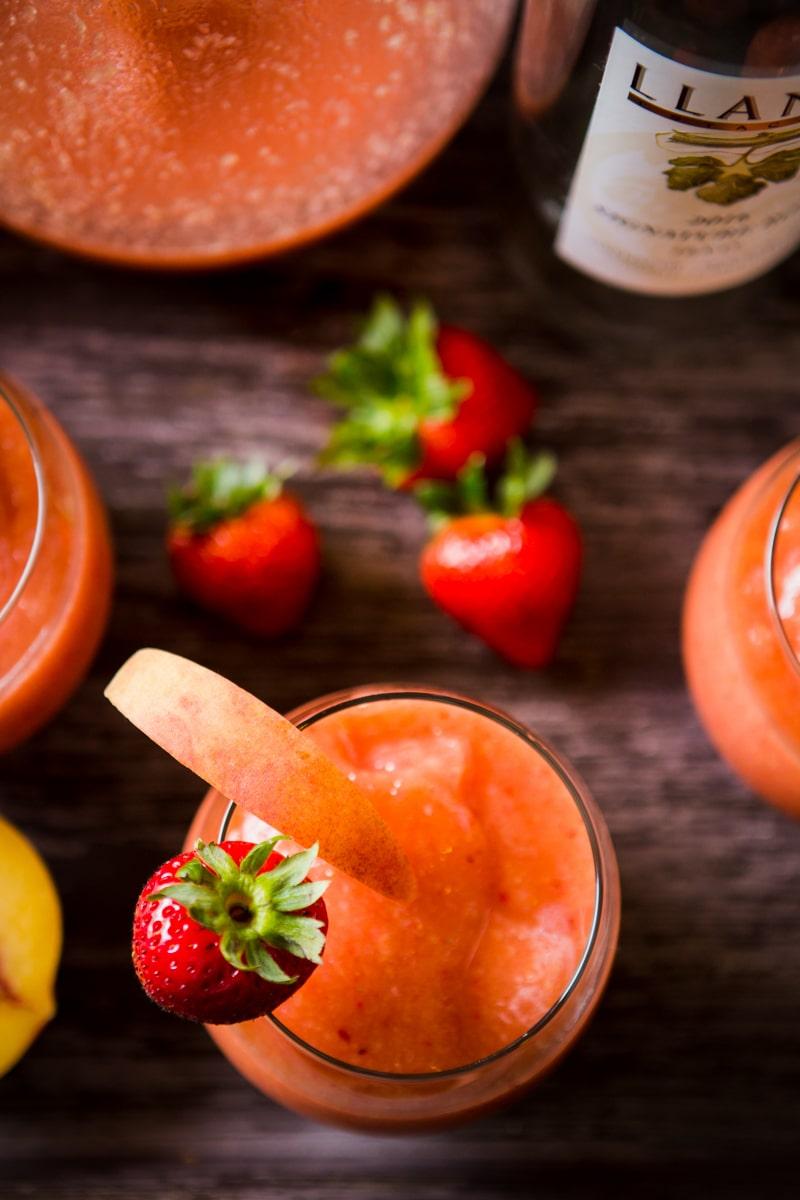 Frozè fruit slushies
