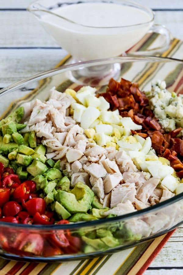 lettuce free keto cobb salad