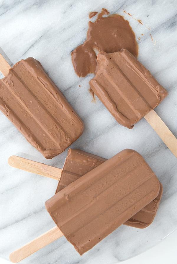 Sugar Free Keto Fudgesicles