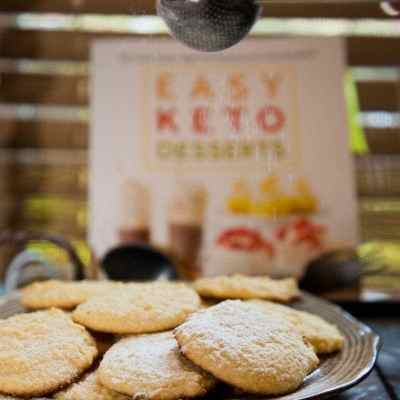 Keto Cream Cheese Cookies – and a cookbook giveaway