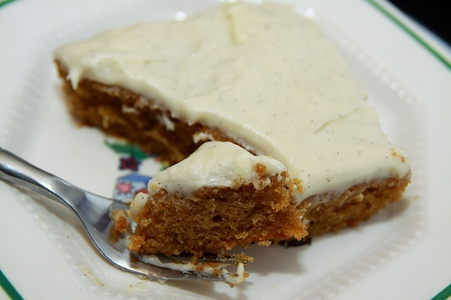 pumpkin pie bite top