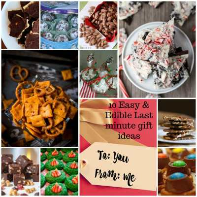 10 easy and edible holiday gift ideas