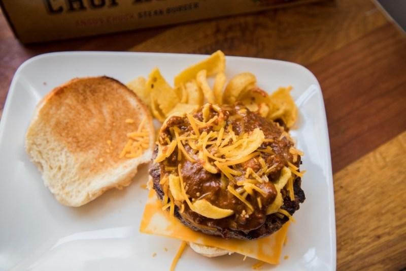 chili cheese frito pie burger recipe