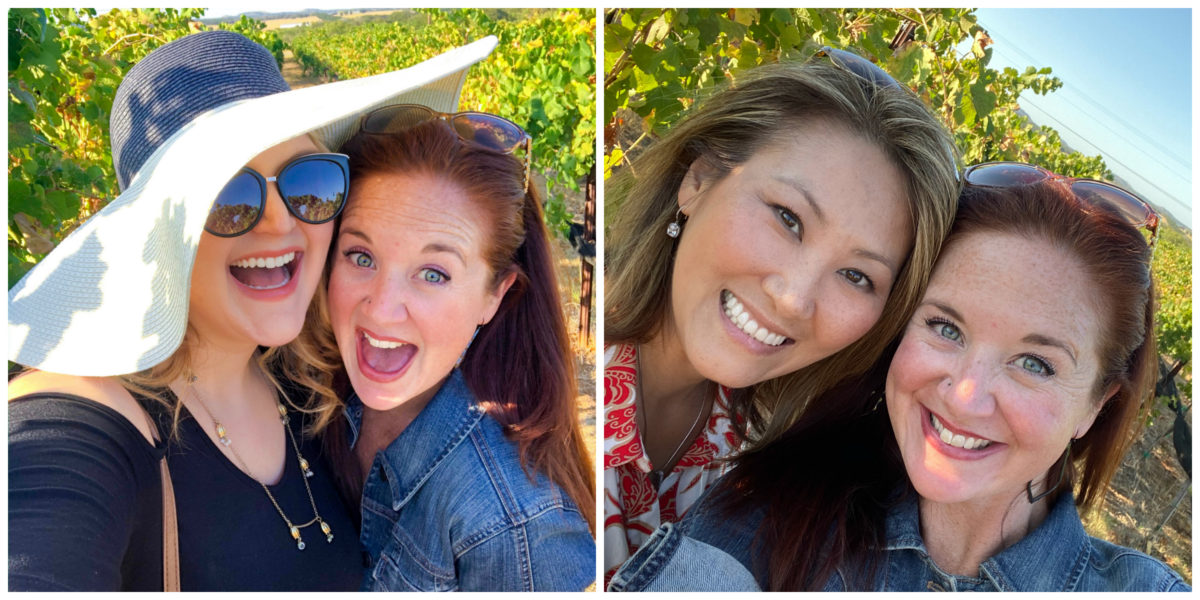 kuhlman cellars selfies