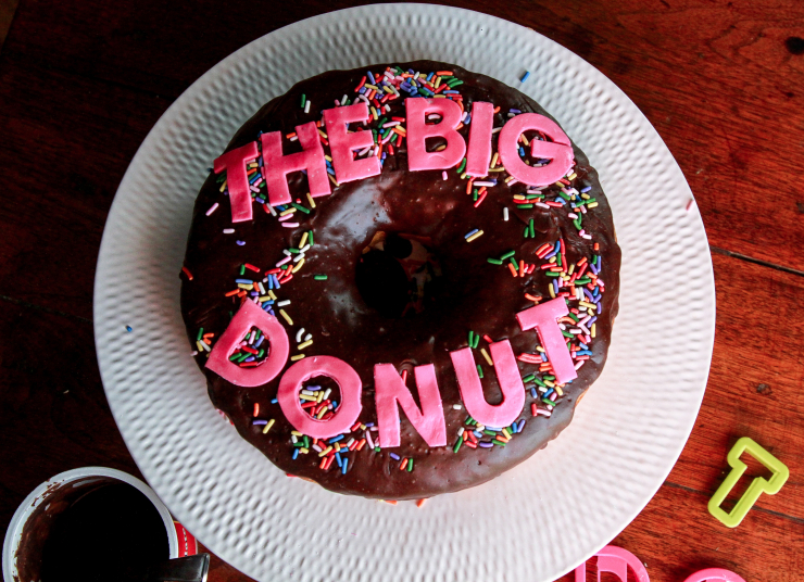DIY Zootopia Inspired The Big Donut Cake