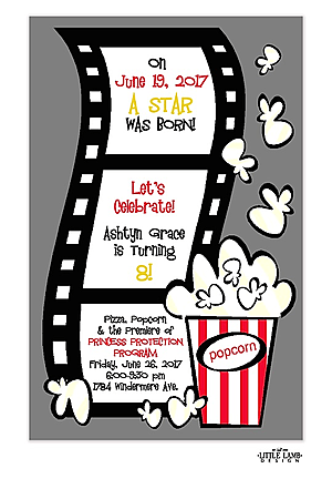 Movie Screening Party Invitations New Selections Spring 2020