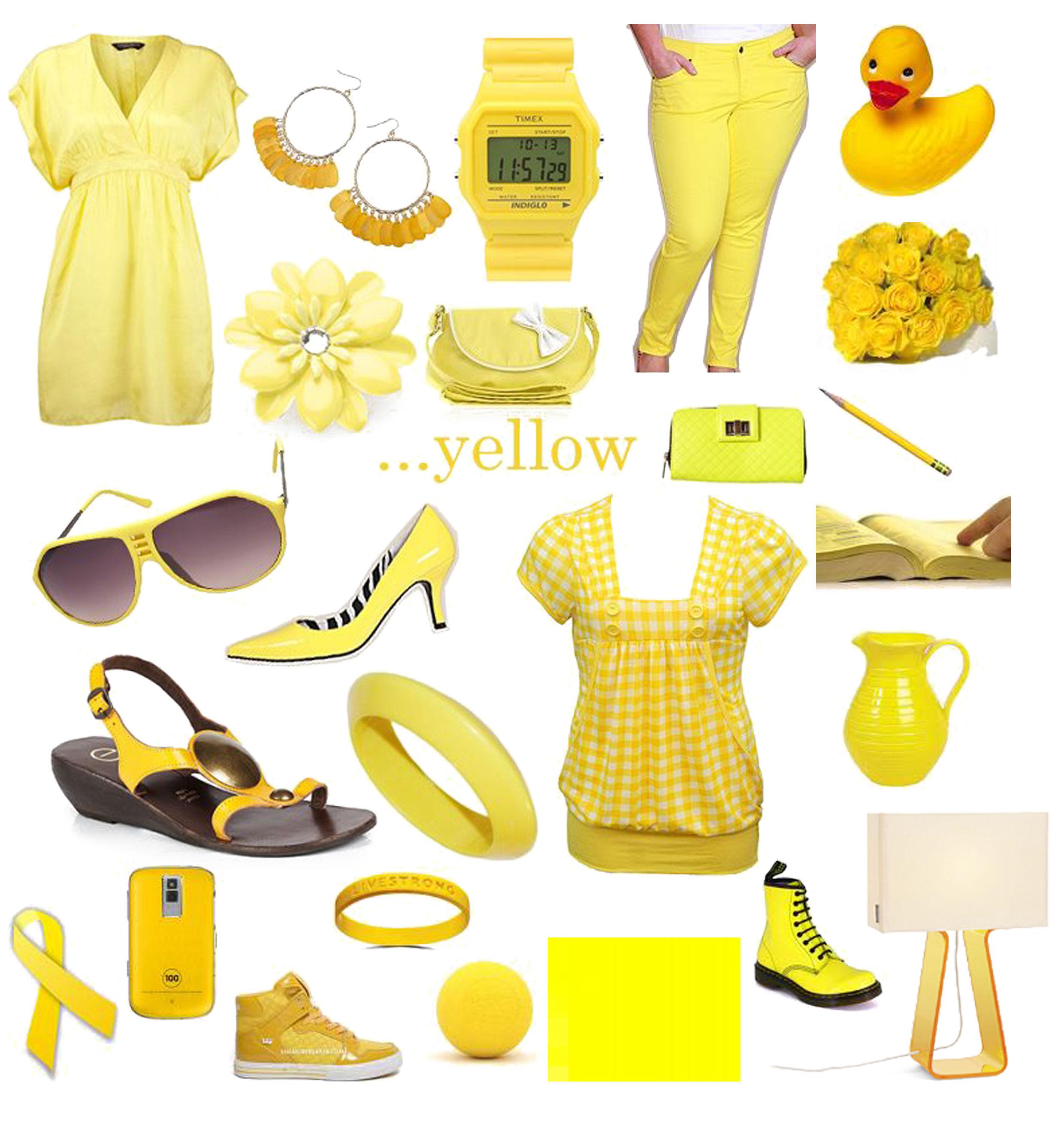 Yellow Objects For Preschool