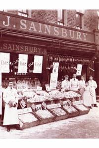Sainsbury's at the corner of Churchway and Chalton street.