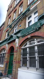 The old leather factory in Somers Town; now the Rail, Maritime and Transport Trade Union.