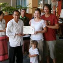 Graduation from the Old Medicine Hospital – Thai Massage School Shivagakormarpaj