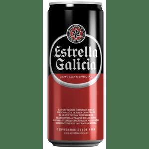 Cerveza ESTRELLA GALICIA- Lata 33 cl - A Spanish Bite